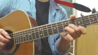 124-3961心の旅チューリップ吉田栄作ギター弾語り簡単アレンジ