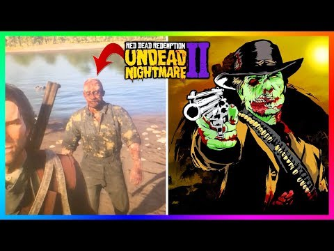 Red Dead Redemption 2 Undead Nightmare - NEW DISCOVERIES! Underwater Zombies, Walking Dead & MORE!