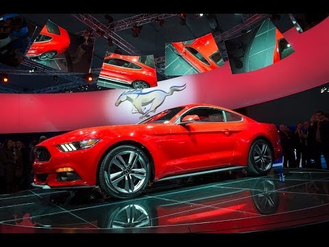 2015 Ford Mustang - Weltpremiere / world premiere in Barcelona #GoFurther