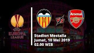 Jadwal Pertandingan dan Prediksi Leg 2 Semifinal Liga Eropa, Valencia Vs Arsenal, Jumat (10/5)