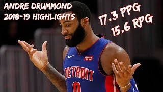 Andre Drummond 2018-19 Season Highlights  [HD]