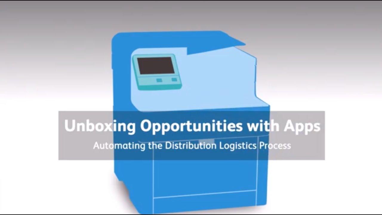 Nouvelles opportunités grâce aux Applis: Automatisation du processus logistique de distribution YouTube Vidéo