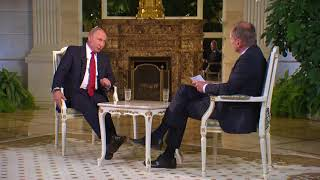 Владимир Путин. Интервью австрийскому телеканалу ORF. Часть 2