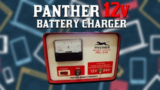 Panther 12 volt battery charger