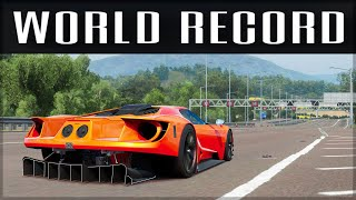 Fastest possible 0-400-0 Time in Forza History!   Forza Science   Horizon 4 - Motorsport 1