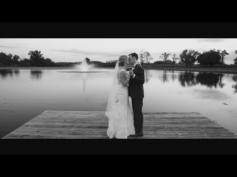 Rachel & Garrett's Beautiful Wedding Film at Lakeview Farms