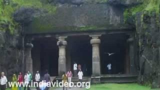 The Elephanta Caves in Mumbai, Maharashtra