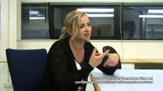 Charlotte Church Interview Aug 2012 - topics: death, news media, child stardom & her own children.