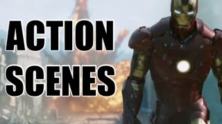 TOP 10 SUPERHERO MOVIE ACTION SCENES