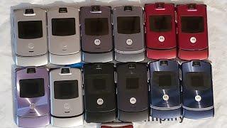 Motorola Razr V3/V3M/V3A/V3C Collection