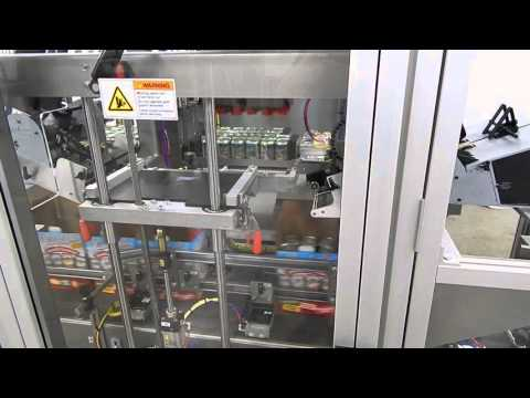 Canned Beer Case Packing Line