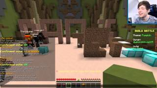 Minecraft | THE UGLY PUMPKIN | Build Battle Minigame [TDM]