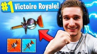 JE FAIS TOP1 GRACE A LA NOUVELLE GRENADE COLLANTE ! 😱 Fortnite Battle Royale