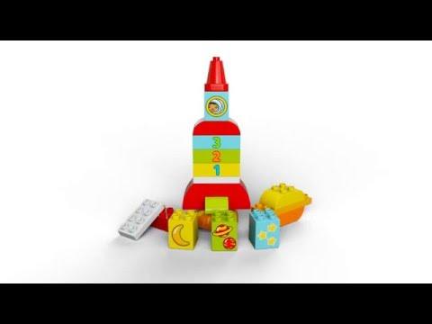 Vidéo LEGO Duplo 10815 : Ma première fusée