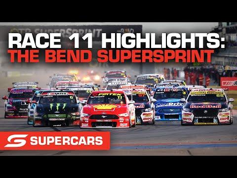 SUPERCARS 2021 OTR スーパースプリント RACE11のハイライト動画