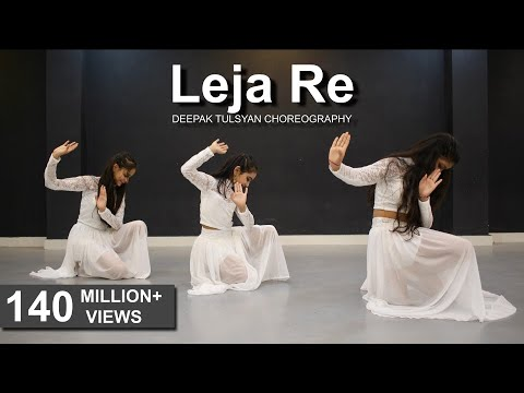 Download Leja Re | Easy Dance Steps | Dhvani Bhanushali | Deepak Tulsyan | G M Dance HD Mp4 3GP Video and MP3