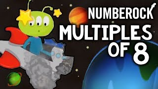 8 Times Table Song | Skip Counting by 8 Multiplication Song