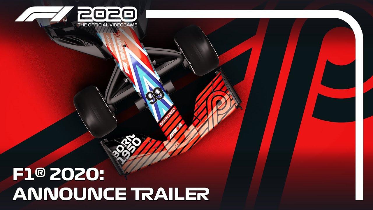 Трейлер игры F1 2020