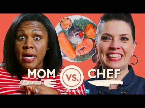 Mom vs Chef: Battle Salmon // Sponsored by New York Life