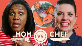 Mom vs Chef: Battle Salmon // Sponsored by New York Life - Video Youtube