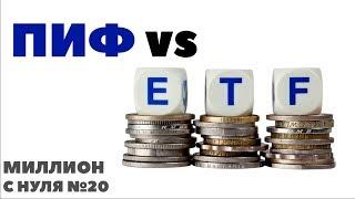 МИЛЛИОН С НУЛЯ №20: Инвестиции в ПИФы и ETF Финекс. Зачем инвестировать деньги в ПИФ?