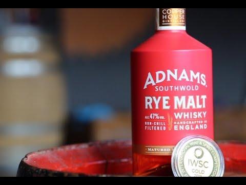 Gold medal-winner Adnams Rye Malt Whisky
