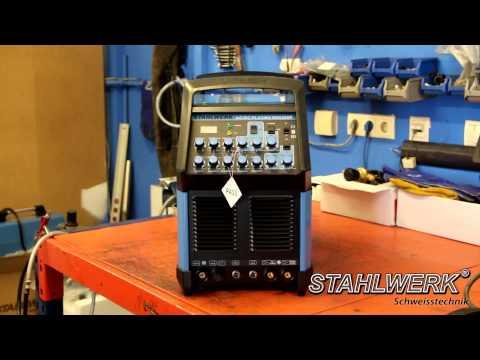 Schweißgerät STAHLWERK AC/DC Plasma 200P S-Serie - AC DC TIG Inverter/ Puls/ E-Hand/ Plasmaschneider