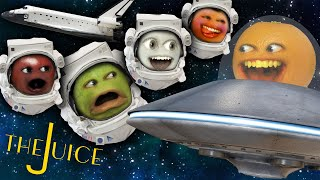 Annoying Orange - The Juice #10: What Would You Bring to Space?!