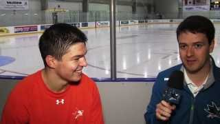 Speaking Czech with Tomas Hertl
