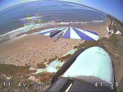 fpv-slope-soaring--airtoair-with-headtracking