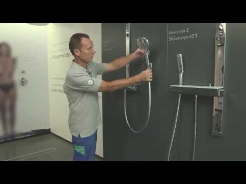 Entkalken und reinigen einer Handbrause: Hansgrohe Raindance Select