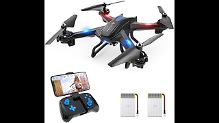 SNAPTAIN S5C WiFi FPV Drone with 720P HD Camera, Voice Control, Gesture Control RC Quadcopter