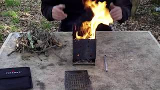 Bikepacking Wood Stove Review - Part1  Firebox Stove