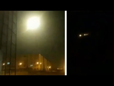 Video appears to show missile hitting Ukrainian plane in Iran