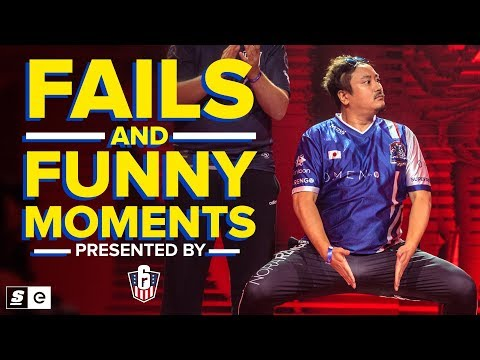 Funny Moments & Fails From The Raleigh Major (Rainbow Six Siege)