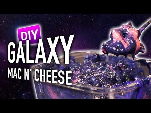 DIY Galaxy Mac N' Cheese