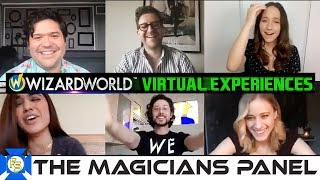 THE MAGICIANS Cast Panel – Wizard World Virtual Experiences 2020