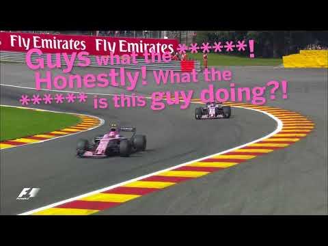 Ocon's Fury At Perez In Belgium   F1 Best Team Radio 2017