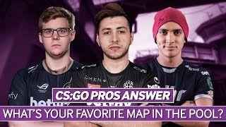 CS:GO Pros Answer: What's Your Favorite Map in the Pool?