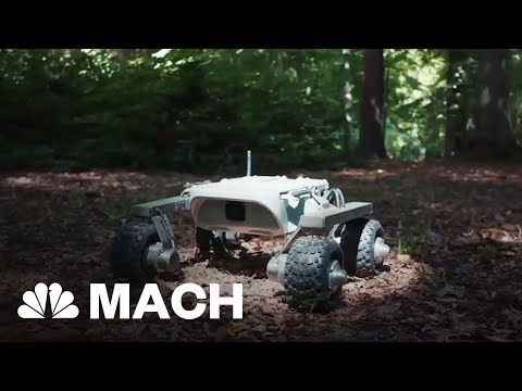 This Martian Rover Is Made For Earth Travel | Mach | NBC News