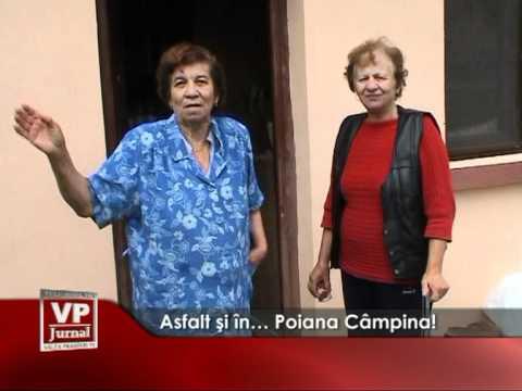 Asfalt şi în… Poiana Câmpina!