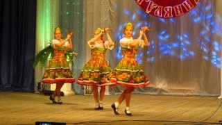 Русско - народный танец с ложками. Русский перепляс.студия Байсан
