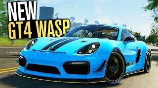 The Crew 2 - Porsche Cayman GT4 Wasp Edition Customization!