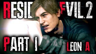 resident evil 2 remake leon walkthrough part 1 - TH-Clip
