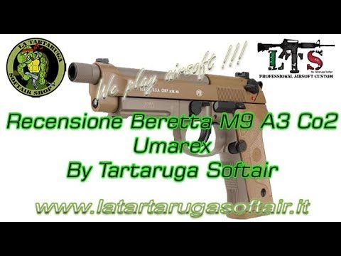 Videorecensione Beretta M9 A3 Blowback CO2 Umarex