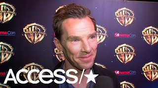 Benedict Cumberbatch Talks 'Mowgli' Role: 'If Andy Serkis Asks You, You Jump At It!' | Access
