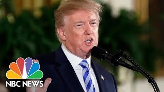 President Donald Trump Speaks At White House Prison Reform Summit | NBC News - Video Youtube