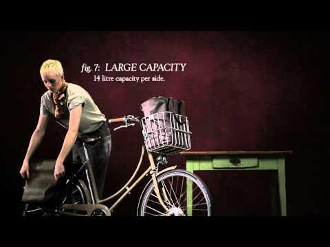 Brooks Brick Lane dubbele fietstas