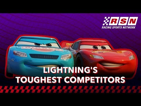 Lightning McQueen's Toughest Competitors | Racing Sports Network By Disney•Pixar Cars