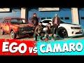 EGO VS CAMARO w Kafalar